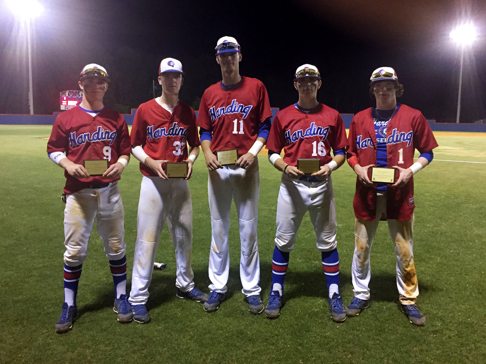 Collin Hoover, Dawson Simmons,  Jacob Simmons, Preston Ford, and Jared Kirkman.
