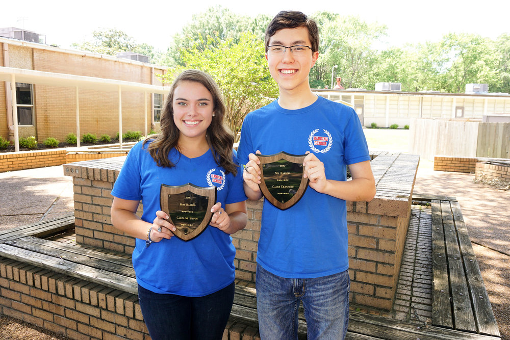 Mr. and Miss Harding – Caleb Cranford and Caroline Sisson