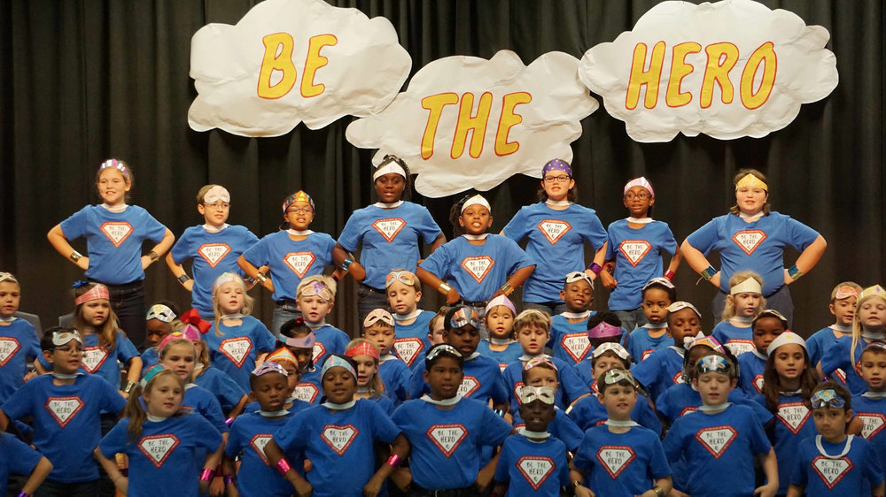 "CDLS SK–Grade 5 program ""Be The Hero"""