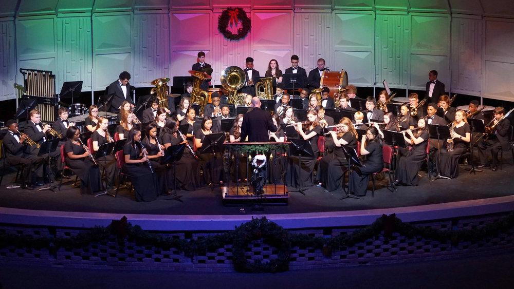 Senior Wind Ensemble Christmas Concert 2018