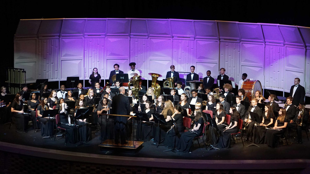Senior Wind Ensemble Spring Concert 2018