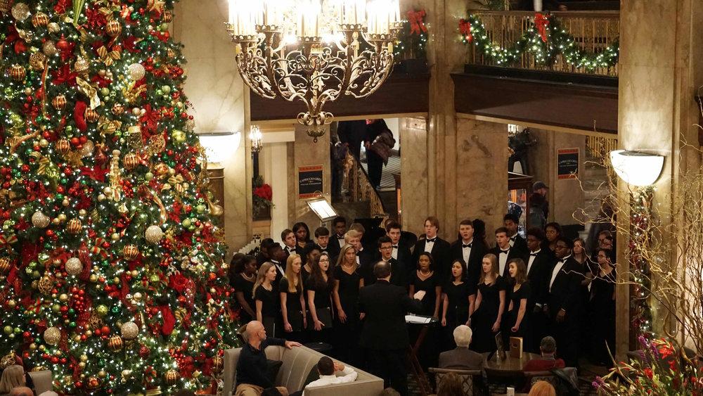 A Cappella Chorus Peabody Concert 2018