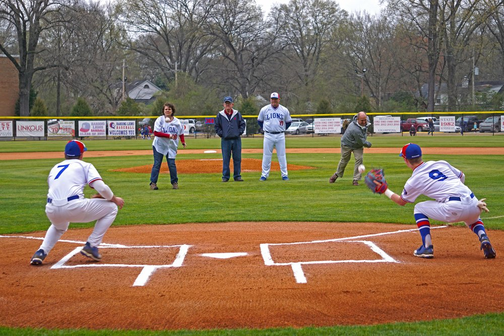 March25 Baseball1stPitchDana&Trent04.jpg