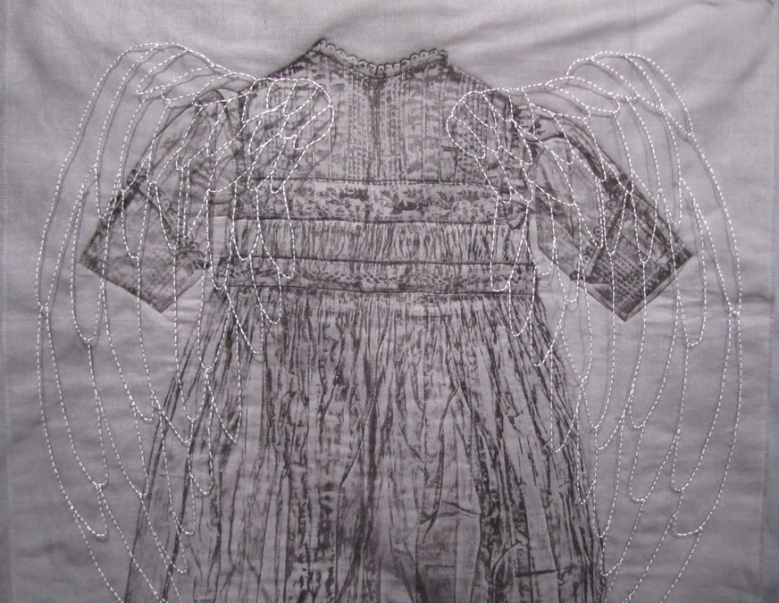 Christening Gown with Wings