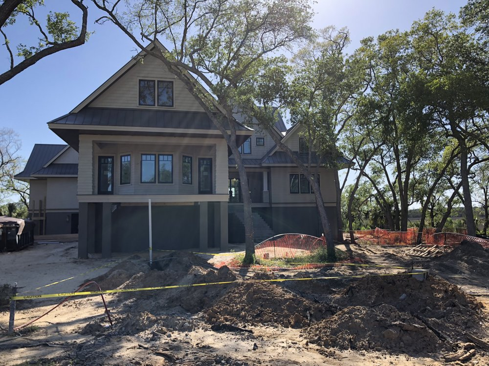 So close..... - 450 Fish Tale Road is in the home stretch.  only a month to go before completion.