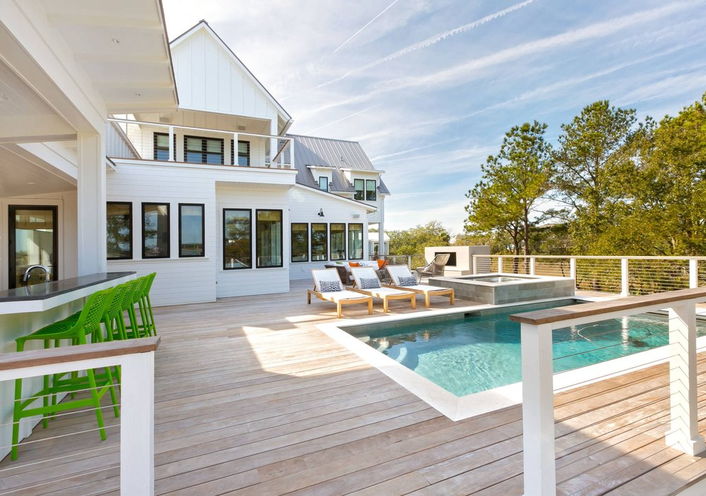1538 Wando View  - A Hybrid of Coastal Lowcountry w/ Contemporary elements.