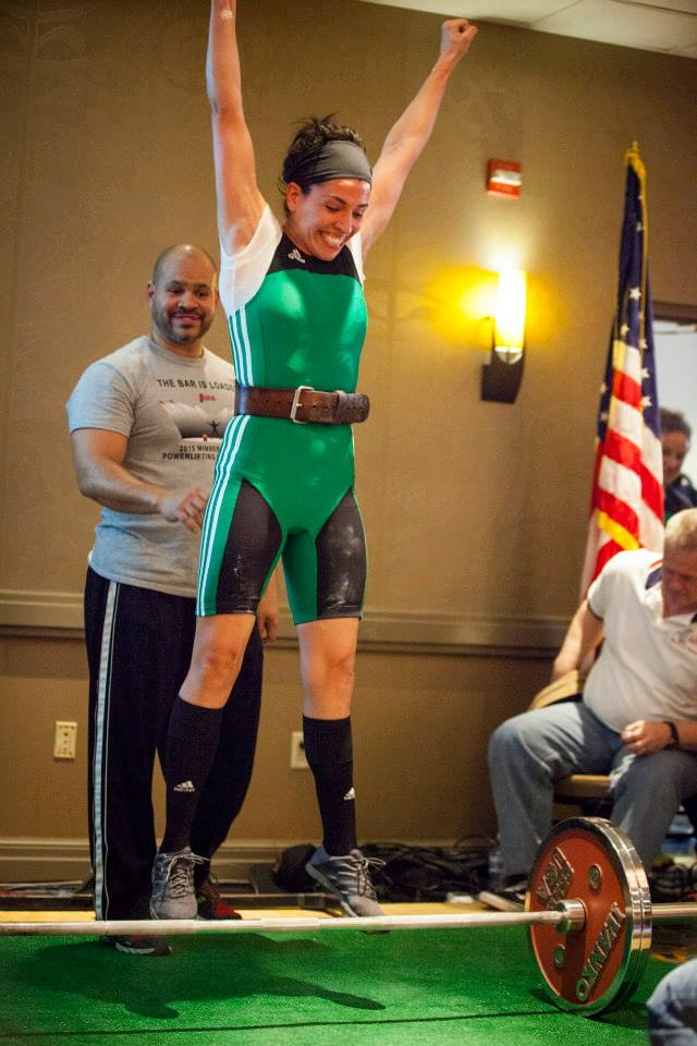 Kati Winter-Loder at the 2015 MN State Open Powerlifting Throwdown, Photo Cred: Movement Minneapolis
