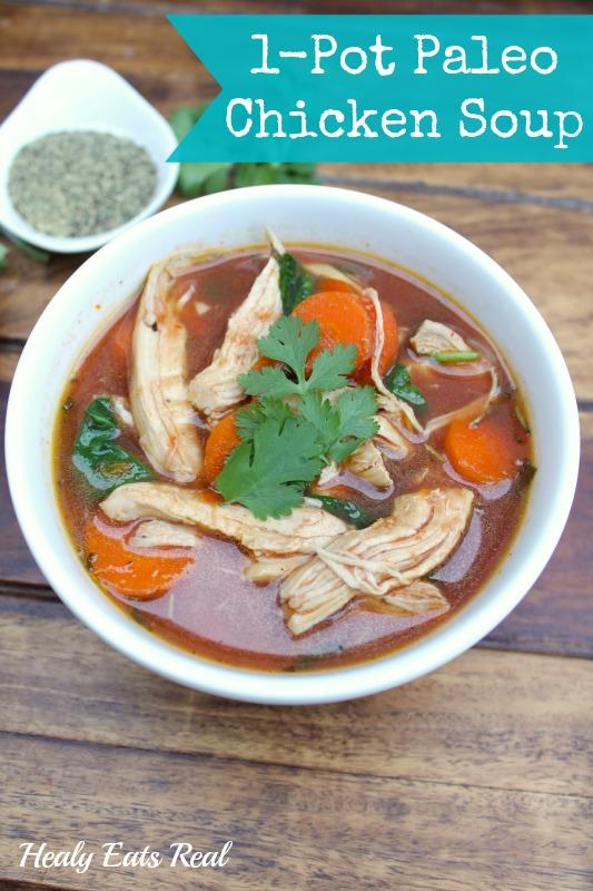 Pot Paleo Chicken Soup