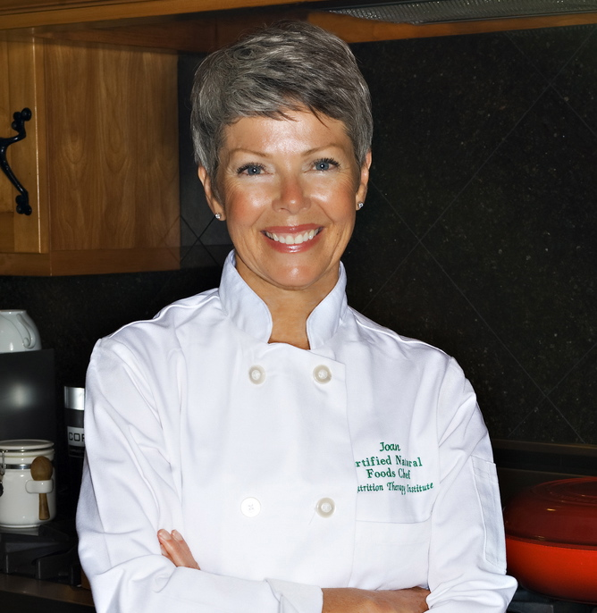 Chef Joan Cunningham, M.A.  Courtesy Larry Bollig Photography