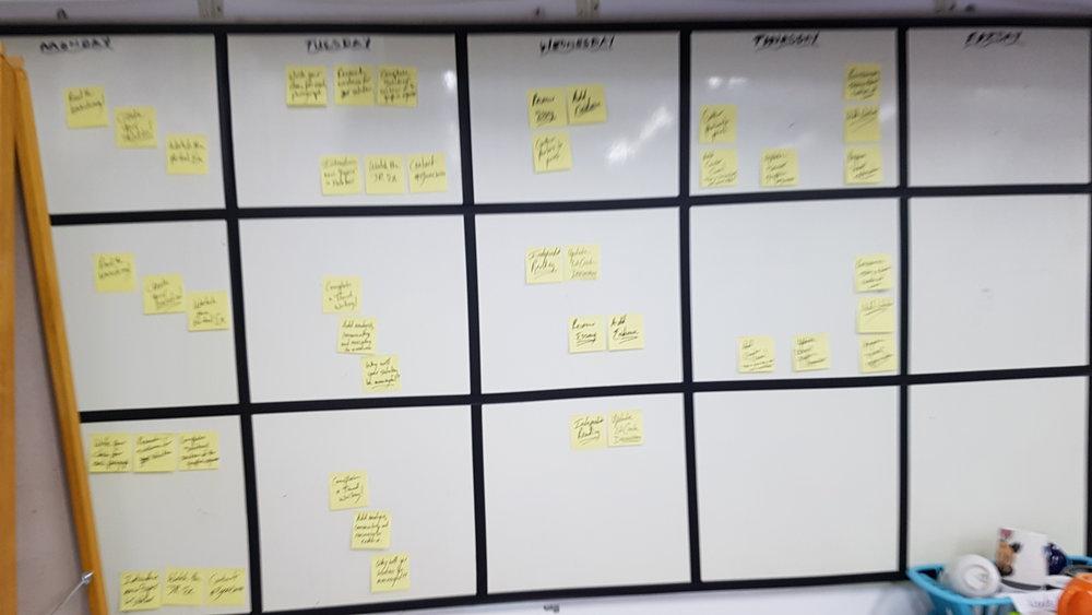 Copy of Lesson Calendar