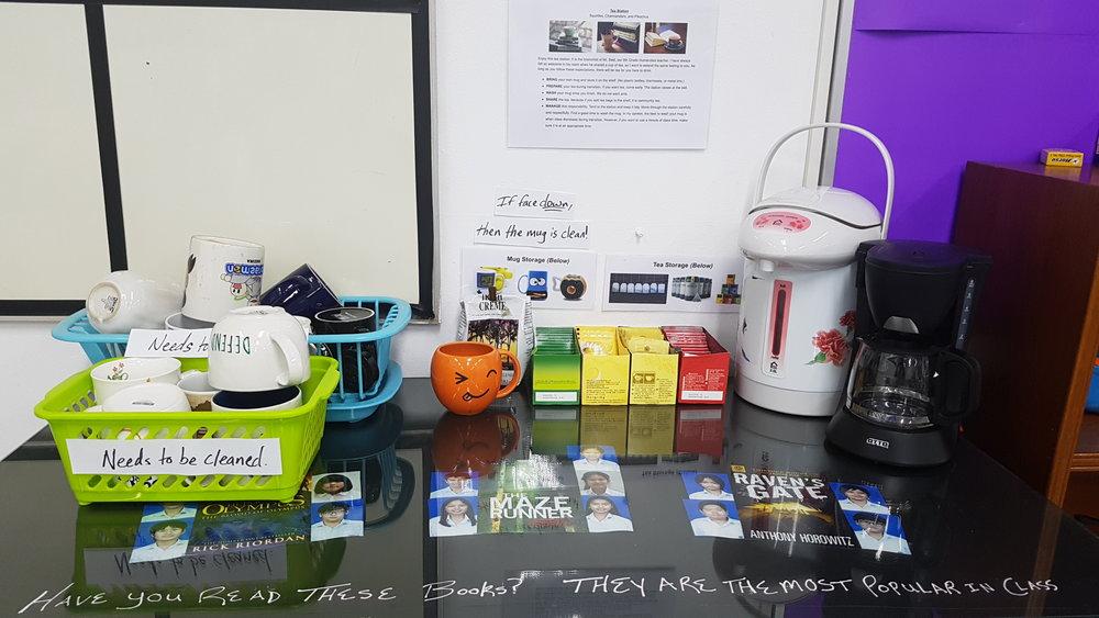 Copy of Tea Station