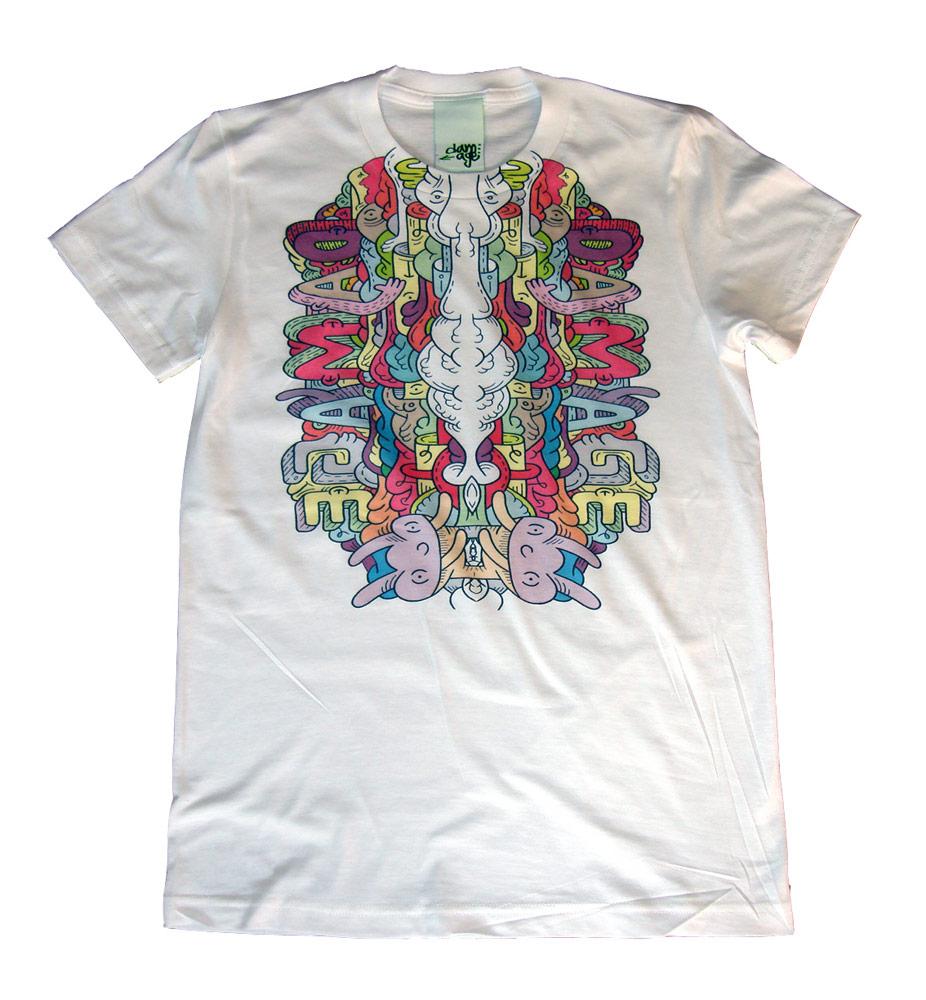 damag3 t-shirt - designed by Luke Ramsey