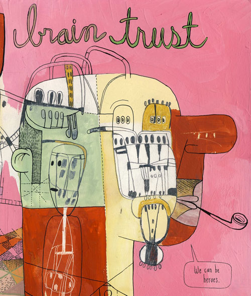 Cover of Brain Trust by Peter Thompson and James Kirkpatrick