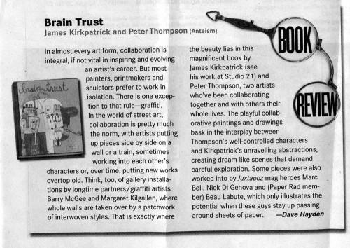 The Coast Newspaper Reviews Brain Trust