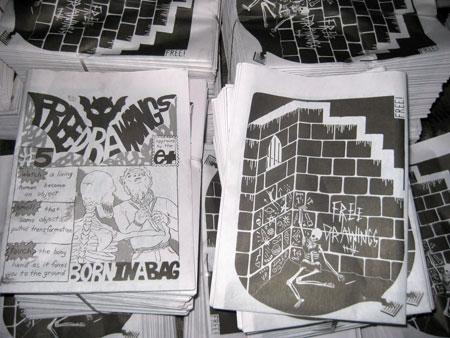 Free Drawings - Newspaper - # 5