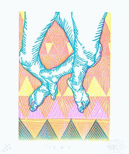 Canadian Artist Other / Troy Lovegates Original Prints For Sale