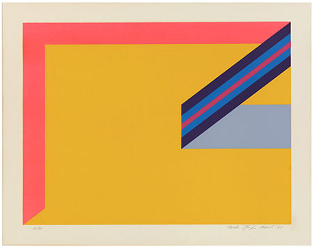 Title: Untitled  Artist: Bodo Pfeifer  Date: 1968  Format: Print [silkscreen]  Location: Collection of the Vancouver Art Gallery