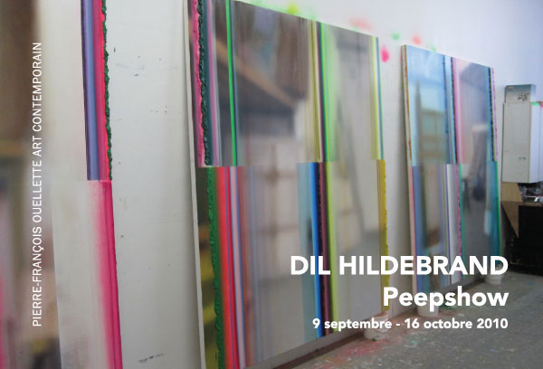 Painter Dil Hildebrand's Art Exhibition Peepshow & Long Drop Artsist Monograph Book Launch