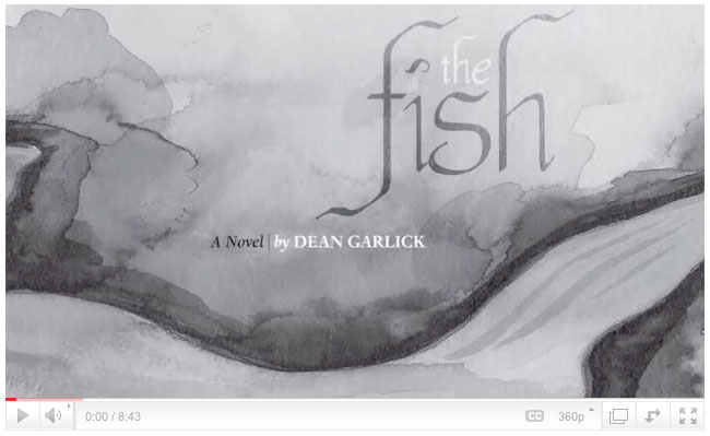 Author Dean Garlick reads from his book The FIsh