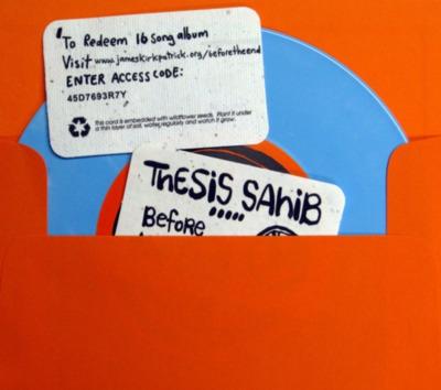 Thesis Sahib aka James Kirkpatrick 【暇-itoma 8th- …