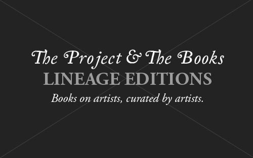 THE LINEAGE EDITION IS AN ONGOING SERIES IN WHICH WE SHOWCASE ARTISTS AT WORK.