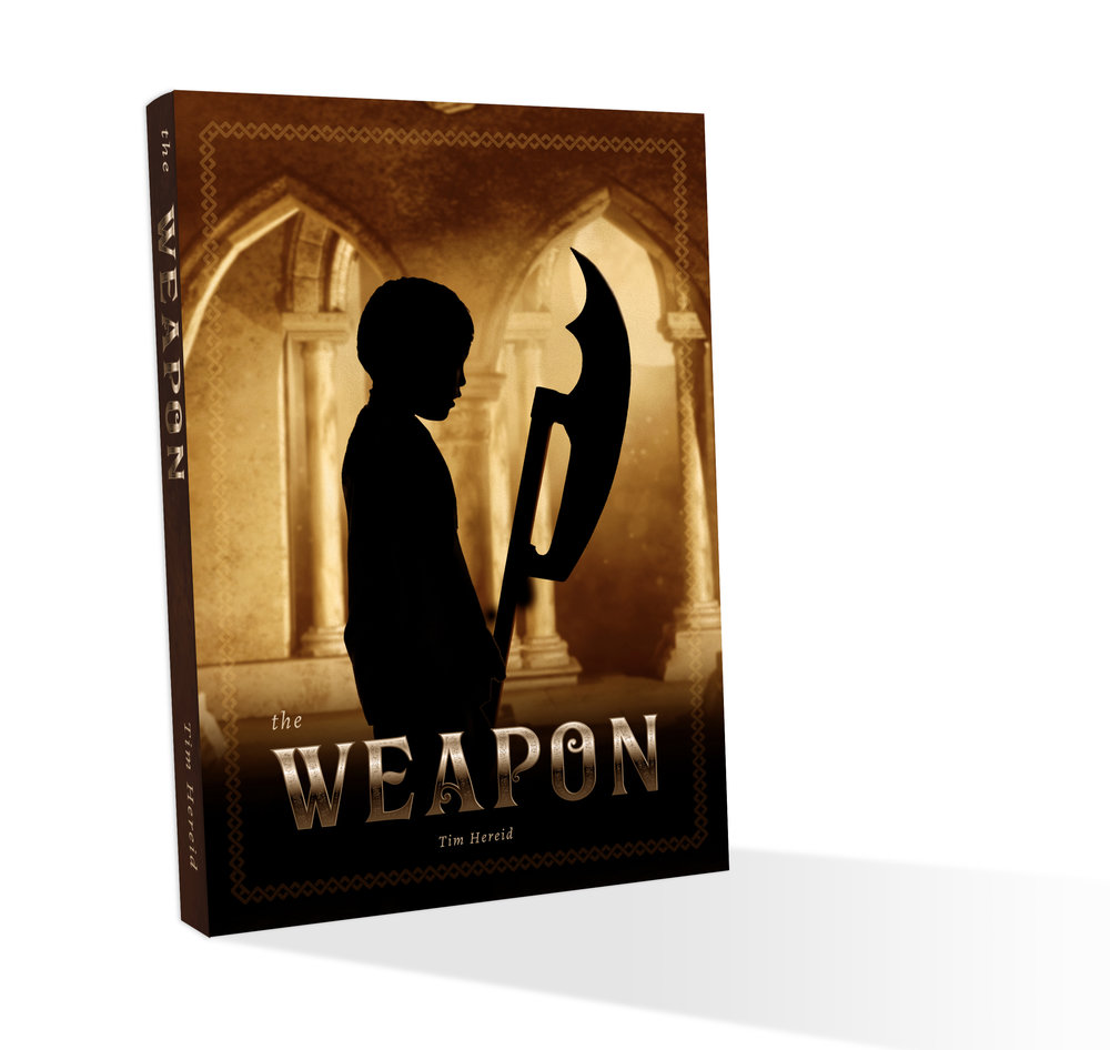 The Weapon - In the beginning, there was the weapon. Cold and sharp and mean. It was given as all things were given to the stable children: once and never again. The storm gray metal streaked with black. Even now, it gleamed.When the city of Amelekhem was destroyed, Vayud's family fled into the desert with only themselves, a cart and a camel to their name. When a terrible event tears his family apart, he finds himself caged. Little does he know the horrors that await him and the other stable children of Chert at the hands of the uncaring galarati, the brutal wielders and the tyrannical consul. There, he must fight for his life and that of his only friend, Ayu, while trying to figure out a way to escape the city and free the stable children.Available March 5th.