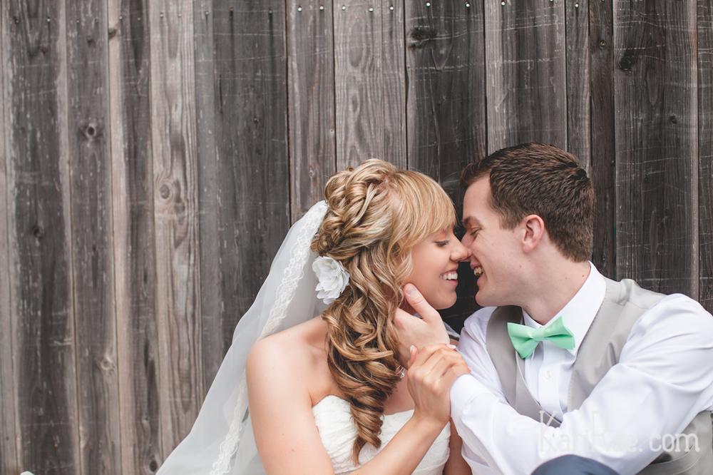 And a full blog post of Jordenn & Josh's ombre wedding!