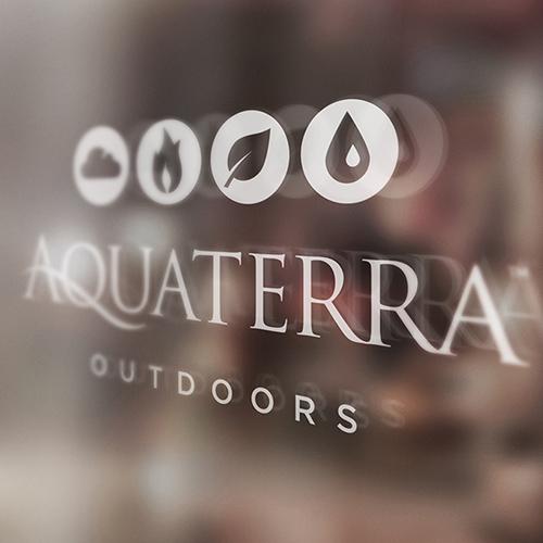 AQUATERRA BRAND / COLLATERAL / WEB
