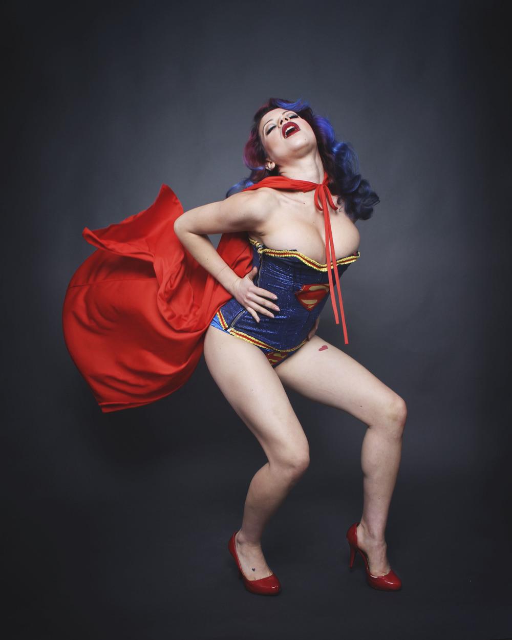 Suicide Girl Burlesque Show Shoot - Stephanie Rachel Guttenplan