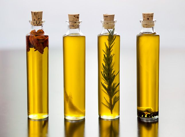DIY Infused Olive Oil via BRIT+CO.