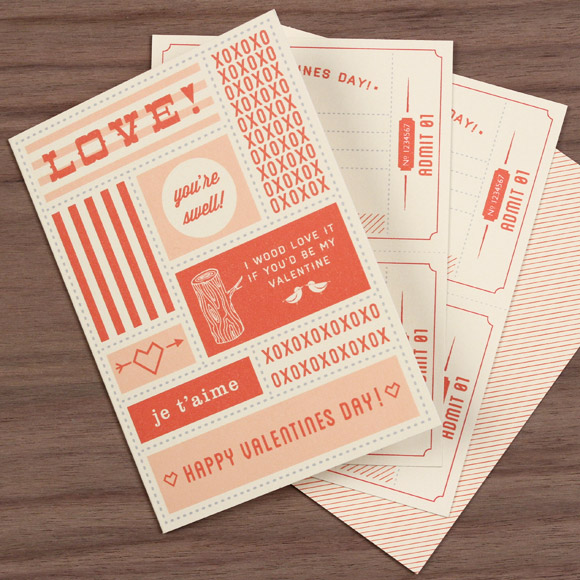 Valentines Day Coupons via Love vs. Design