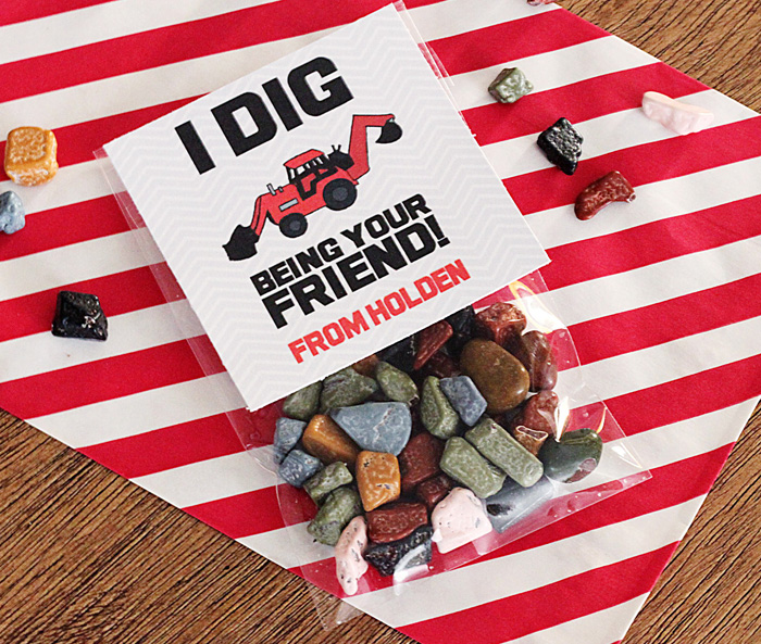 I Dig Being Your Friend valentine via DIY Network