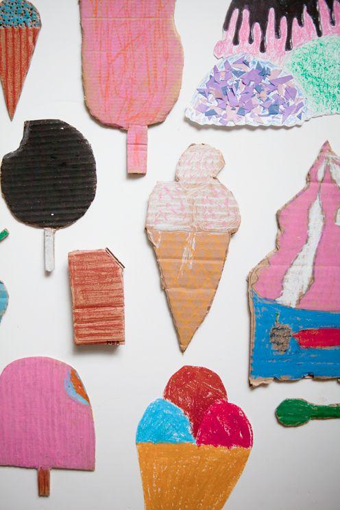 Ice Cream Workshop via finelittleday