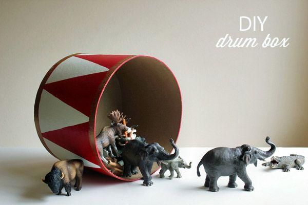 DIY Drum via Hellobee