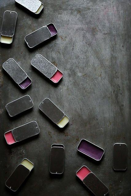 Homemade Lip Gloss via Joy The Baker