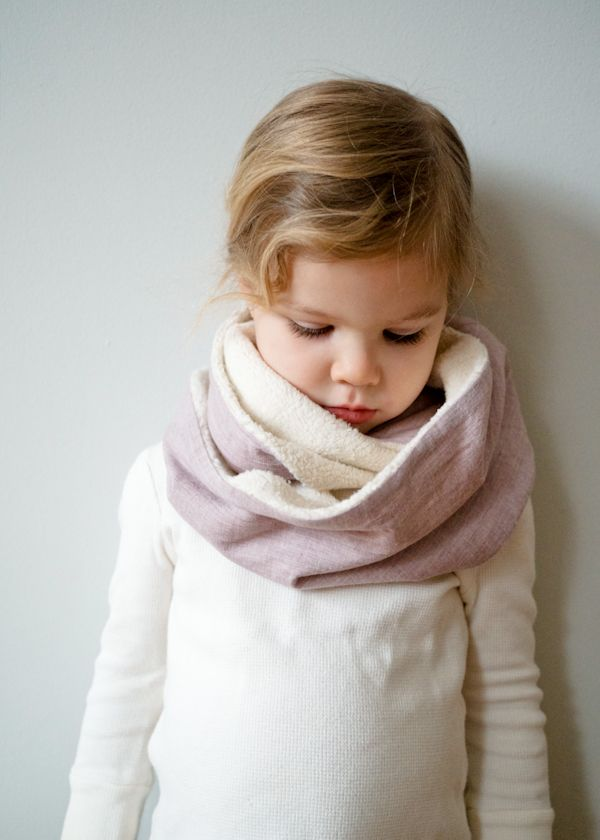 Cozy Sewn Cowl via The Purl Bee