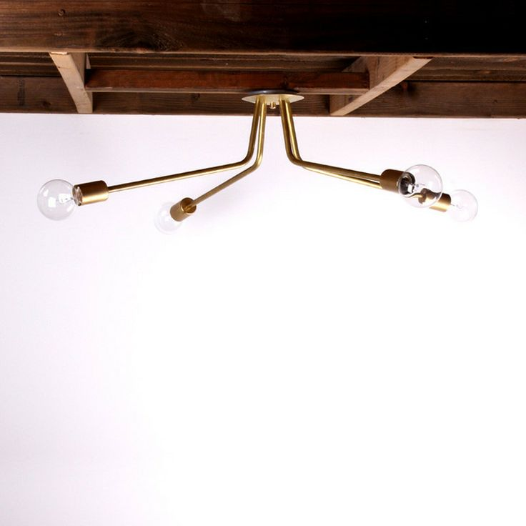 Brass Ceiling Light from One Forty Three