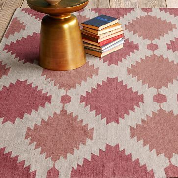 Phoenix Wool Dhurrie Rug from West Elm
