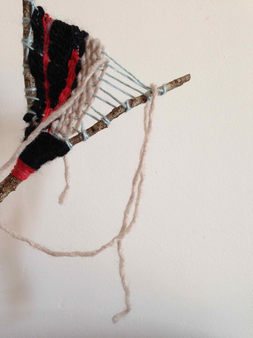 twig weaving