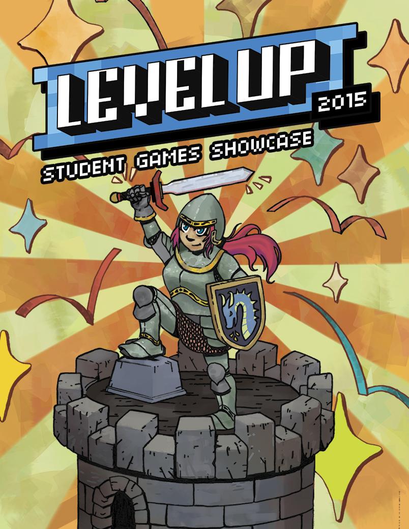Level Up 2015 Poster & Branding
