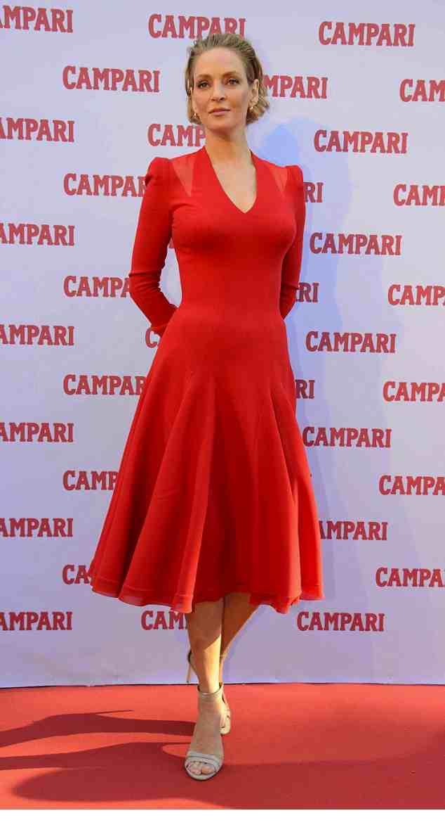 In Atelier Versace Red Dress
