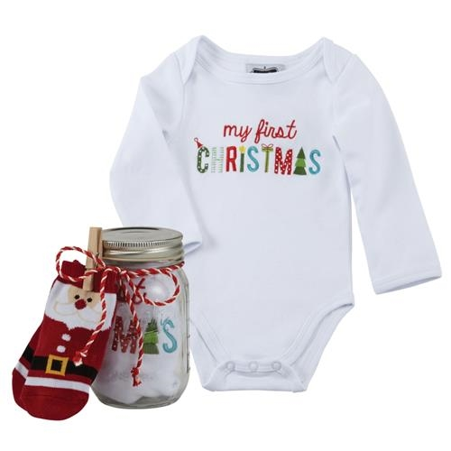 My First Christmas Preserve Jar Crawler & Sock set.jpg