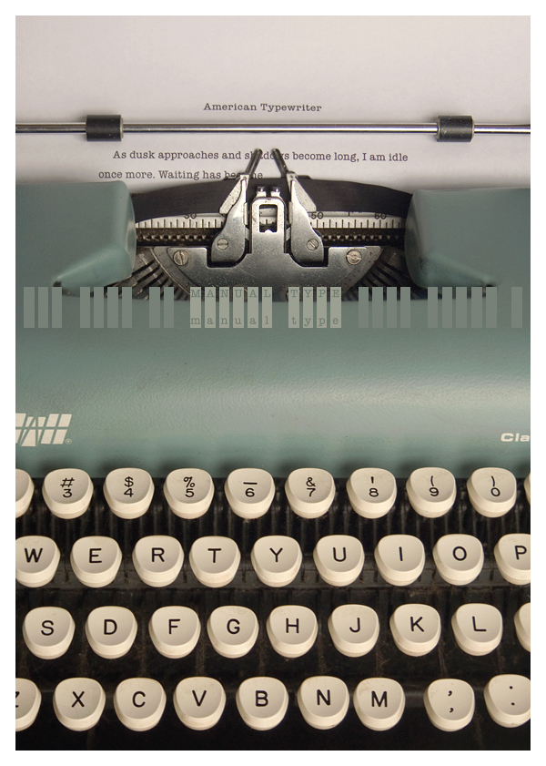 tom davie | typewriter.