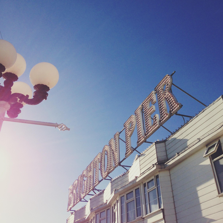 brighton pier | sosallydesign