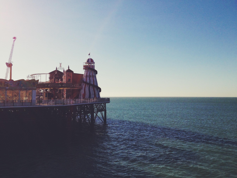 the end of the pier | sosallydesign