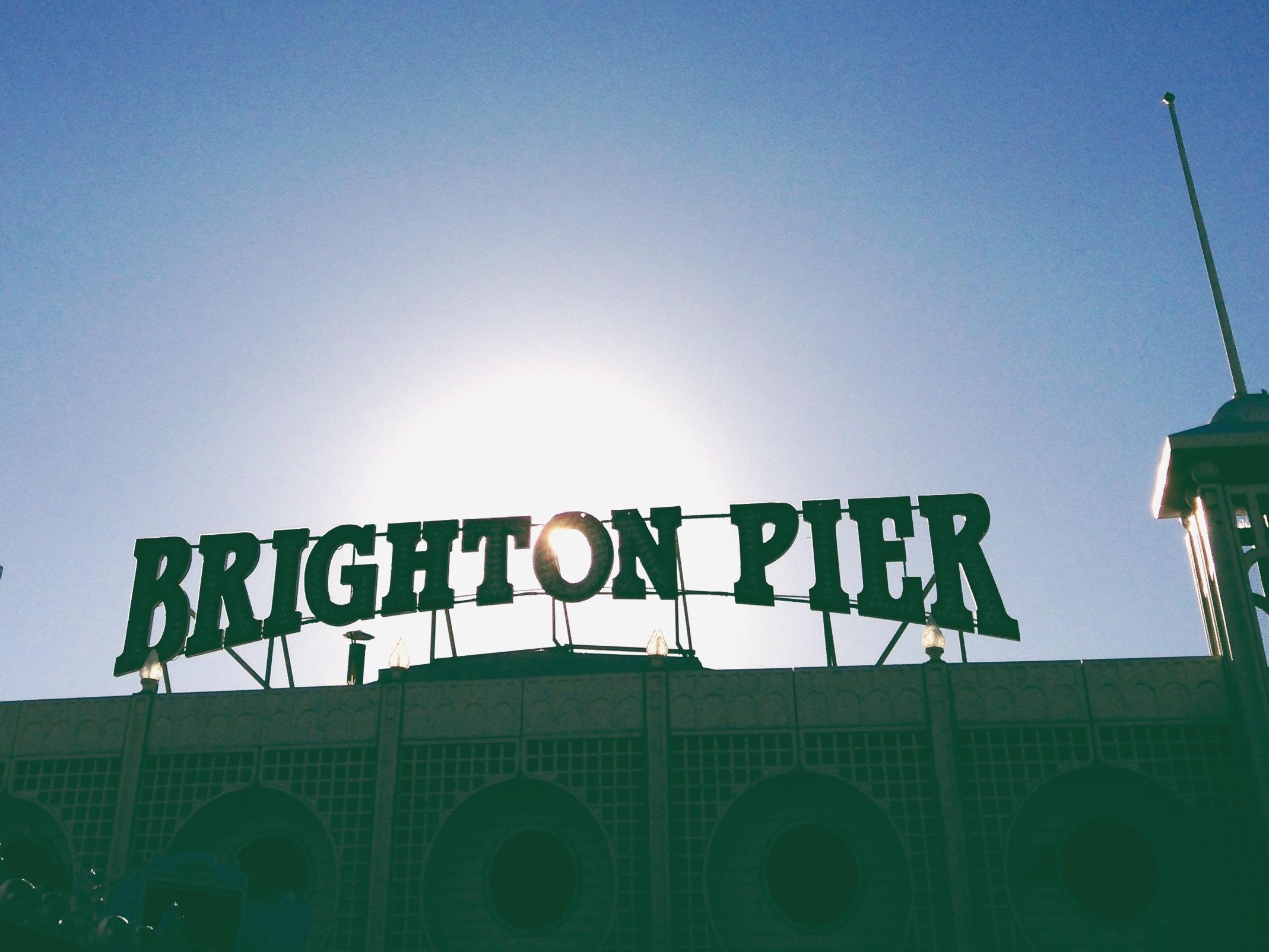 brighton pier   sosallydesign