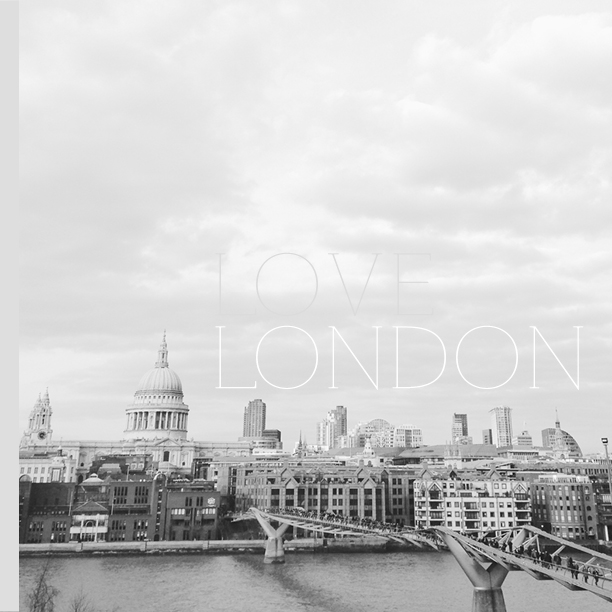 love london | so sally design