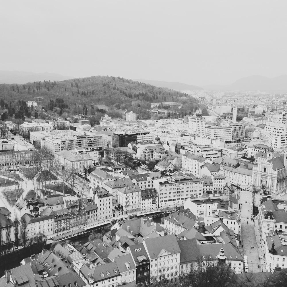 ljubljana from above | sosallydesign