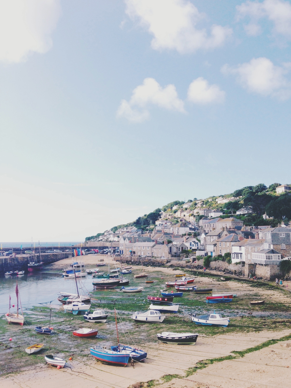 mousehole, cornwall | sally mussellwhite
