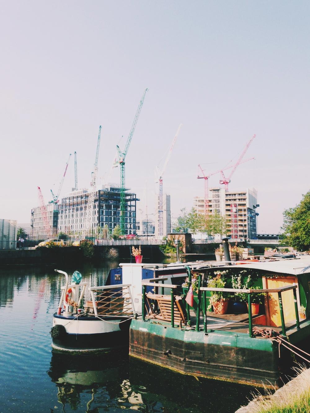 regent's canal | sally mussellwhite | vsco grid